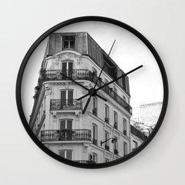 Cityscape Paris Wall Clock