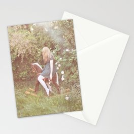 little rocking horse Stationery Cards