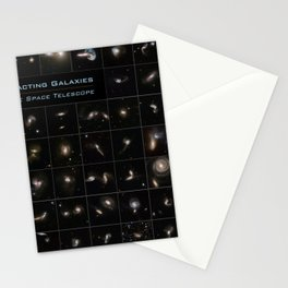Hubble Space Telescope - Series of Colliding Galaxies (2008) Stationery Cards