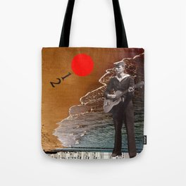 Summer Song Tote Bag