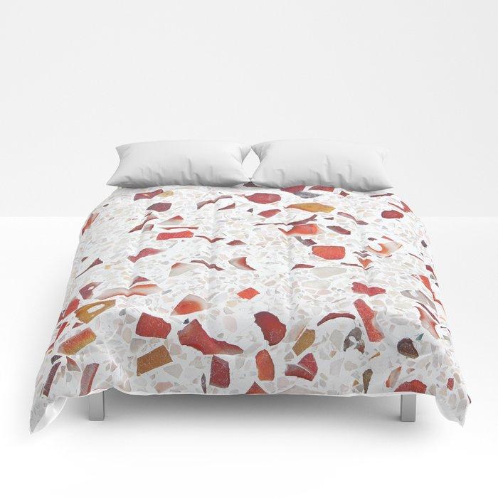 Terrazzo Multicolor Comforters