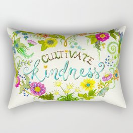 Cultivate Kindness Rectangular Pillow
