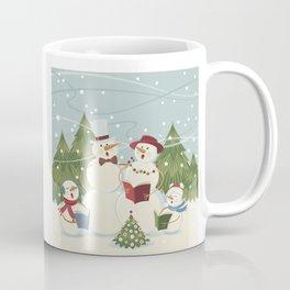 Christmas Song / Snowmen Coffee Mug