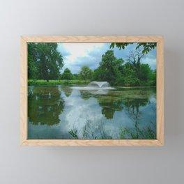 Beauty in the Park - Clissold Park Stoke Newington London Framed Mini Art Print