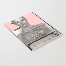 PINKY BOWIE ARRESTED Notebook