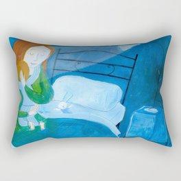 the hug Rectangular Pillow