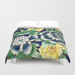 flowers and flowers Duvet Cover