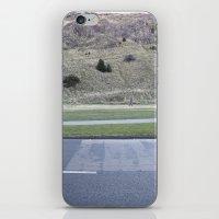 scotland iPhone & iPod Skins featuring Edinburgh Scotland by Sanchez Grande