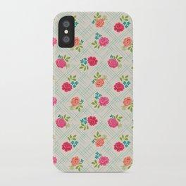 Vintage Farm floral iPhone Case
