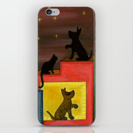 """Moonlight & Silhouettes (i)"" by ICA PAVON iPhone Skin"