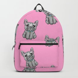 French Bulldogs PINK Backpack