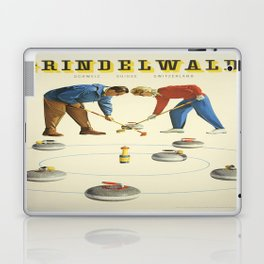 Vintage poster - Grindelwald Laptop & iPad Skin