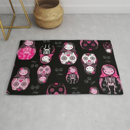 Russian/Mexican nesting dolls Rug
