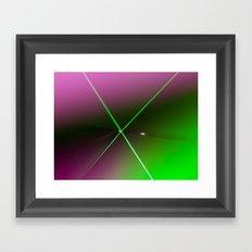 Abstract Neon, Contemporary Art Print, Wall Art Decor, Minimal Bag Design, Pop Art, X-Ray Framed Art Print