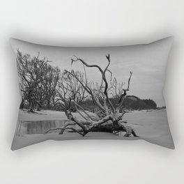 Ghost Trees - Driftwood Beach Rectangular Pillow