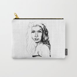 The girl with the guitar Carry-All Pouch