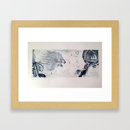 Dreams that Bring the Morning Sadness Framed Art Print