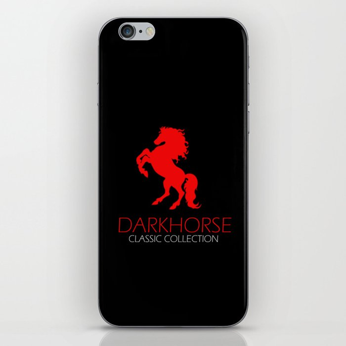 DARK HORSE Red CLASSIC COLLECTION iPhone Skin