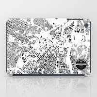 los angeles iPad Cases featuring LOS ANGELES by Maps Factory