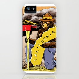 We love you California ~ Color iPhone Case