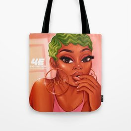 Moneygreenhair Tote Bag