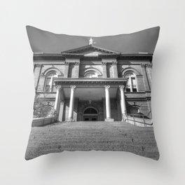 Auburn Courthouse Throw Pillow