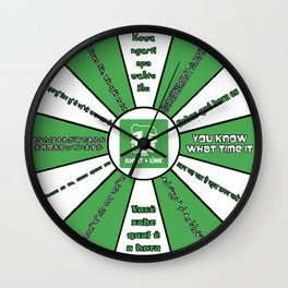 Wheel of Mythicality Clock Wall Clock