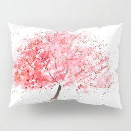 Kwanzan Cherry Tree Pillow Sham