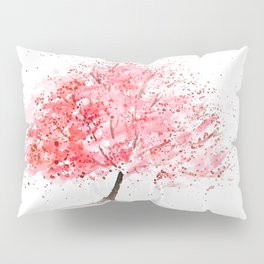 Kwanzan Cherry Tree Pillow Sham