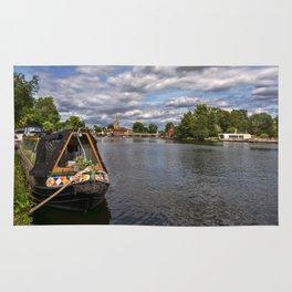 The River Thames At Marlow Rug