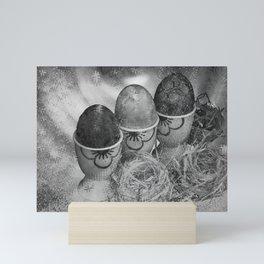 Concept Easter : Happy Easter Mini Art Print