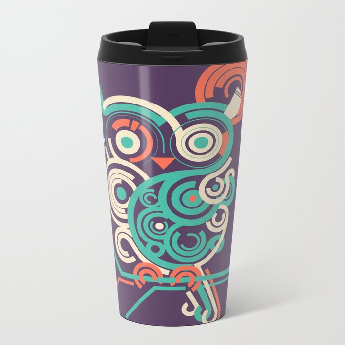 Owl 2.0 Metal Travel Mug