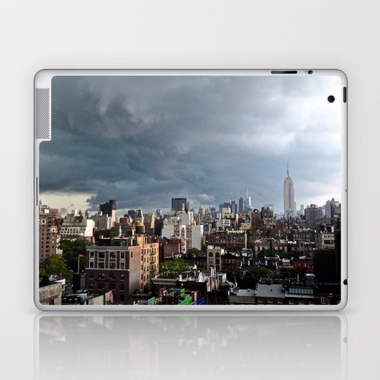 Taking The City By Storm Laptop & iPad Skin