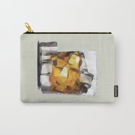 Whiskey on the Rocks Polygon Art Carry-All Pouch