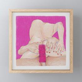 Open up Framed Mini Art Print