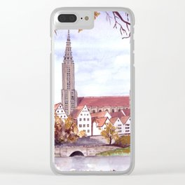 Ulm Cathedral Clear iPhone Case