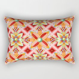 Suzani Compass Rose Rectangular Pillow