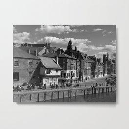Kings Staith York river ouse Metal Print