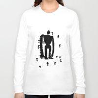 miyazaki Long Sleeve T-shirts featuring Miyazaki Forest by kamonkey