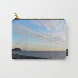 Watercolor People in Nature, NSS, Photography 02, Cape Breton, Nova Scotia, Canada Carry-All Pouch