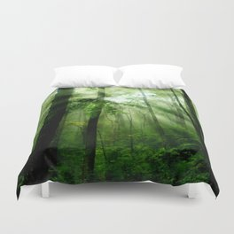 Joyful Forest Duvet Cover