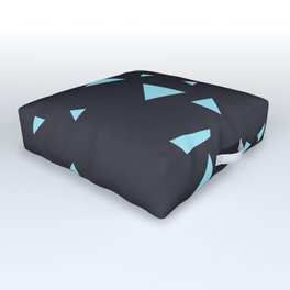 Triangles Outdoor Floor Cushion