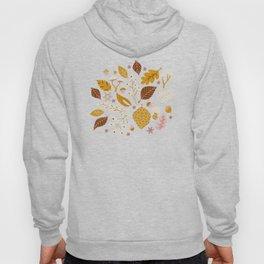 Fall Foliage in Gold + Brown Hoody