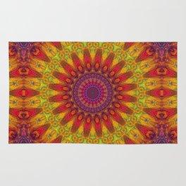 Positive Energy Mandala Rug