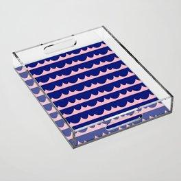 Wave Acrylic Tray