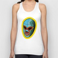 majoras mask Tank Tops featuring mask by mark ashkenazi