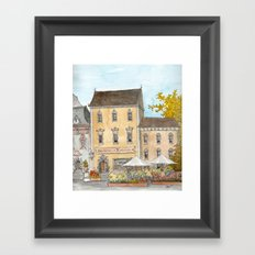 German Bakery Framed Art Print