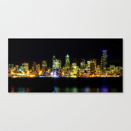 Landscape urban Canvas Print