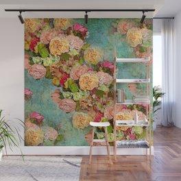 ROSES SO ROMANTIC Wall Mural