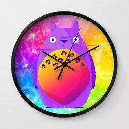 Frankentotoro Wall Clock